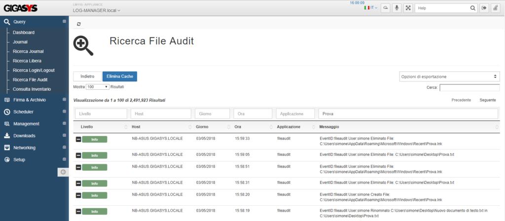 File audit
